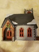 Dept 56 Dickens Village Series - Norman Church - Very Rare - 2443 Of 3500