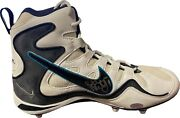 Steve Mcnair Signed White Nike Zoom Air Left Cleat/shoe- Size 10.5- Psa H38407