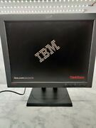 Ibm Thinkvision L200p 20.1-inch Tft Lcd Flat Panel Color Monitor With Cable