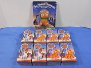 Mcdonalds Disney Christmas Oliver And Company Store Display And 8 Ornaments