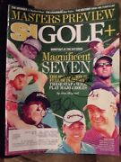 Adam Scott Rory Mcilroy Hand Signed April 4, 2016 Sports Illustrated
