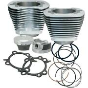 99-06 Harley Twin Cam Sands 97 Silver Big Bore Piston Cylinder Kit 60301