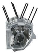 99-05 Harley Sands Twin Cam A 95 88 Super Stock Engine Crankcase Silver 60312