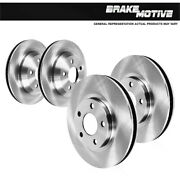 For 2014 - 2017 Land Rover Range Rover Rover Sport Front And Rear Brake Rotors
