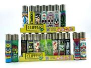 20 Brand New Full Size Refillable Original Clipper Lighters Kitchen Bbq Outdoor