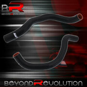 For 2002-2008 Accord Cl7 Tsx K24a Jdm Performance Silicone Radiator Hoses Black