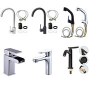 Stainless Steel Kitchen Faucets For Kitchen Sinks Bathroom Pull Down Sprayer