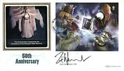 Dr Who 50th Anniversary Signed Benham 2013 Cover By Zoe Wannamaker
