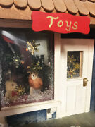 Large Custom Built Lionel Christmas Toy Store Display 1 Of Kind