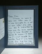 White House Letter Nancy Reagan / Signed 1st Edition 1981