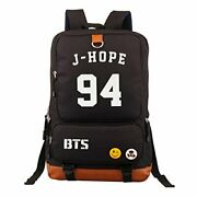 Bts Fanstown Kpop Bts A Rucksack With Logo On It Ruck Sack Backpack - Pen Case