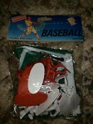 Vtg 1988 Randtoy Plastic Baseball Figures Players 18 Pieces With Playing Field