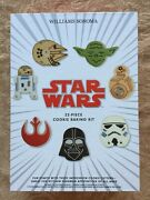 Newwilliams Sonoma Star Wars 22 Pc Cookie Baking Kit 8 Cutters Decorating Tips