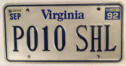 Vanity Polo Shell License Plate Vw Volkswagen Car Derby Tops Song Meek Mill