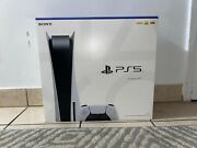 Sony Ps5 Blu-ray Edition Console - White Un-opened In Hand