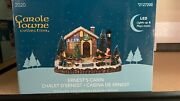 Carole Towne Collection Ernestand039s Cabin Plays Music Lights Up 2020 New