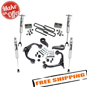 Superlift K1010f 3 Lift Kit W/ Fox Shocks For 11-19 Chevy And Gmc 2500hd / 3500hd