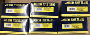 American Flyer Trains Lot Of 6 Blue Comet Empty Boxes 6-48995-6-7-8, 6-49911-12