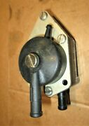 Vintage Omc Johnson Evinrude Oem Snowmobile Fuel Pump With Primer Fitting