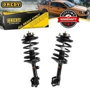 Oredy Front 2 Quick Complete Struts And Coil Spring Assembly For Acura Mdx 01-02