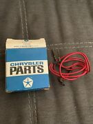 Nos Ambient In Car Thermistor Sensor Atc 1967-68 Imperial C-body Ac 2837153