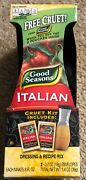 16 Good Seasons Italian Dressing And Recipe Mix 1 Cruet And 2-.7 Oz Packages - New