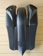 Harley Davidson 7down And Out Extended Saddlebags/fender 8 Lids Touring 97-2013