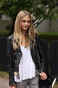 Brit Iconic Loseley Quilted Leather Jacket - It 42 Us 8 - Prorsum Ss11