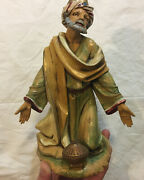 Fontanini 12 Nativity 1983 Wise Man King Figure- Excellent Condition F02