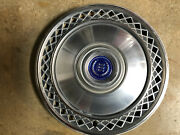 Ford Ltd Wheel Cover 70s Vintage Hubcap Blue Center With Package Used