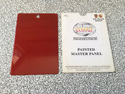 Mg Rover Factory Colour Measurement Painted Master Panel Burnish - 25 45 75