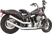 Freedom Performance Upsweeps Exhaust W/ Star End Cap For Harley Davidson 1986