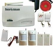 Wireless Security Home Alarm System Door/window Sensors With Accessoy 9v-12v New