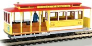 Ho Scale - Powered - Powell And Mason Sts- Cable Car W/gripman - Bac-60538