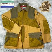 Vintage 60andrsquos Winchester Repeating Arms Duck Canvas Flannel Hunting Field Jacket