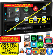 92-97 Ford F Series And Bronco Wireless Apple Carplay Android Auto Car Stereo