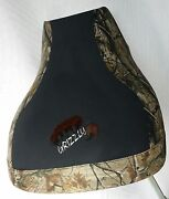 Yamaha Grizzly 660 Camo Seat Cover With Logo Fits Only Grizzly 660