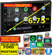 2010-14 Mustang Wireless Apple Carplay Android Auto Navigation Bluetooth Stereo