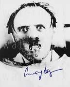 Hannibal Lecter Anthony Hopkins Signed 8x10 Rp Photo Picture Poster Autograph