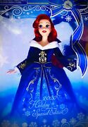 Disney Store Ariel Doll 11 The Little Mermaid 2020 Holiday Special Edition New