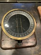Ww2 Us Army Aircraft Type D-12 Compass Dated 1942