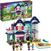 Lego Friends Andreaand039s Family House 41449 Building Kit Mini-doll Playset New 2021