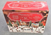 Christmas Village Animated With Lights And Music 30 Pieces Limited Edition