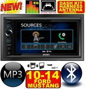 2010-2014 Ford Mustang Bluetooth Touchscreen Usb Sd Aux Car Radio Stereo Package