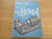 Agenda Pompes Sihi 1952 Agriculture Industrie Puteaux Photo