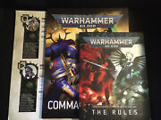 9th Edition Command Mini Core Rule Book 9 Ed Warhammer 40k Softcover The Rules