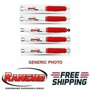 Rancho Rs5000x Frontandrear Shock Absorber W/steering Damper For Wrangler Tj
