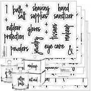 Talented Kitchen Script Bathroom Organization Labels � 123 Bathroom Beauty And Of