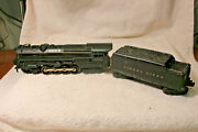 Lionel O Gauge 2020 6-8-6 1946 Steam Locomotive With 2466w Whistle Tender