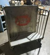Vintage Double Cola Stocking Display Cart - Authentic